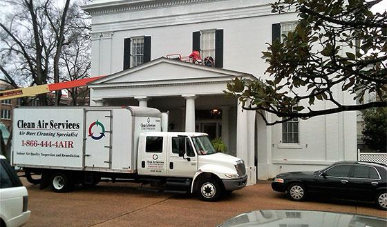 Dust removal for New Orleans homes