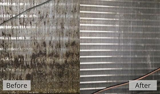 Commercial Coil Cleaning in New Orleans, Slidell, LA, Gulfport, Biloxi, Hattiesburg, Jackson, MS, and Mobile, AL